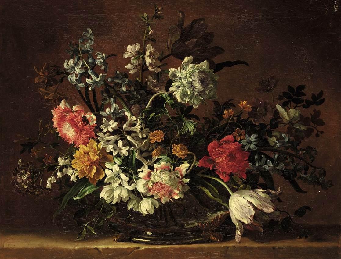 Jean-Baptiste Monnoyer, Mrtva priroda cvijeća