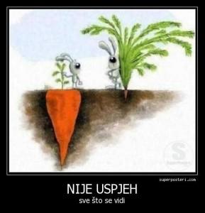 nije uspjeh sve što se vidi